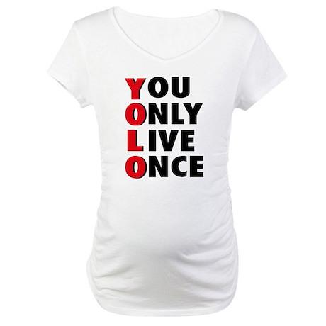 yolo Maternity T-Shirt