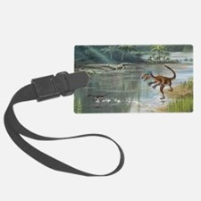 Jurassic life, artwork - Luggage Tag