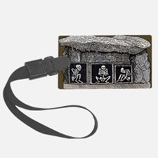 Prehistoric tomb, Sweden - Luggage Tag