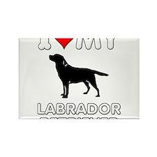 I Love My Lab Labrador Retriever Dog Gift Rectangl