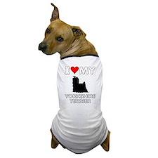 I Love My Yorkie Yorkshire Terrier Dog Gift Dog T-
