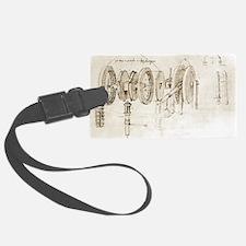Da Vinci's notebook - Luggage Tag