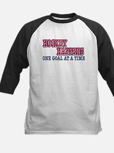 Hockey Happens Kids Baseball Jersey