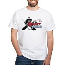 Hockey My Goal Is To Deny Shirt