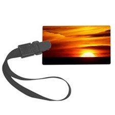 Sunset over the Black Sea - Luggage Tag