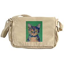 small cat Messenger Bag