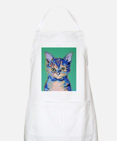 small cat Apron
