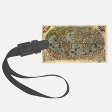 16th century world map - Luggage Tag