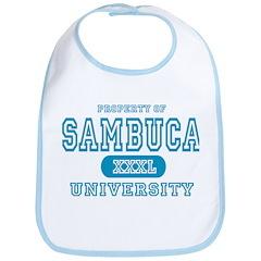 Sambuca University Alcohol Bib