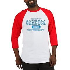 Sambuca University Alcohol Baseball Jersey
