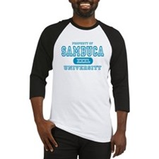 Sambuca University Alcohol Baseball Jersey