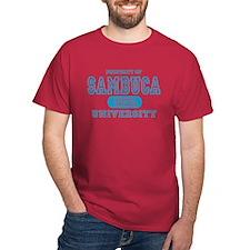 Sambuca University Alcohol T-Shirt