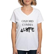 Oxford Comma For Life - Thug Shirt