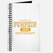 Pumpkin University Halloween Journal