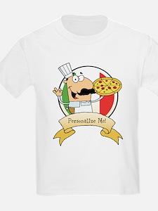 Italian Pizza Chef T-Shirt