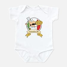 Italian Pizza Chef Infant Bodysuit