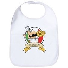 Italian Pizza Chef Bib
