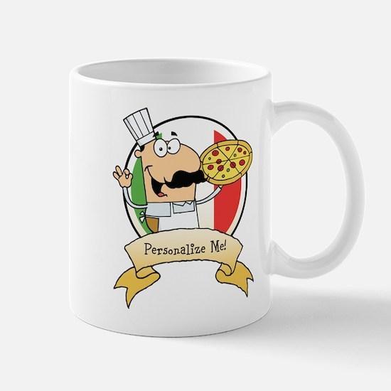 Italian Pizza Chef Mug