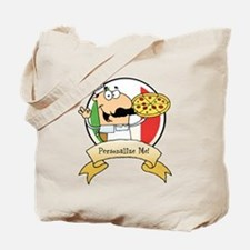 Italian Pizza Chef Tote Bag
