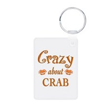 Crazy About Crab Keychains
