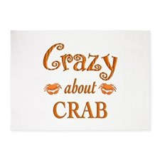 Crazy About Crab 5'x7'Area Rug