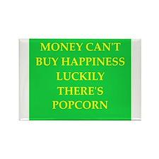 popcorn Rectangle Magnet