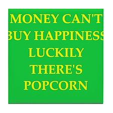 popcorn Tile Coaster
