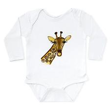 Giraffe - ZooWhirlz Long Sleeve Infant Bodysuit