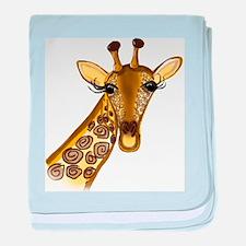 Giraffe - ZooWhirlz baby blanket