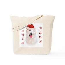 Santa Paws Kuvasz Tote Bag