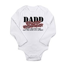 Shoot The First One... Long Sleeve Infant Bodysuit