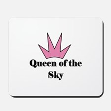 Queen of the Sky (pink) Mousepad