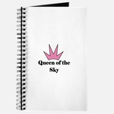 Queen of the Sky (pink) Journal
