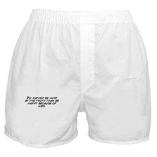 Unique Truth hurts Boxer Shorts