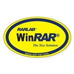 WinRAR Sticker yellow