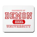 Demon University Halloween Mousepad
