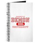 Demon University Halloween Journal