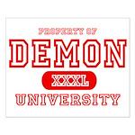 Demon University Halloween Small Poster