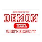 Demon University Halloween Postcards (Package of 8