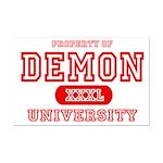 Demon University Halloween Mini Poster Print
