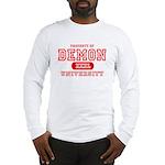 Demon University Halloween Long Sleeve T-Shirt