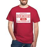 Demon University Halloween Dark T-Shirt