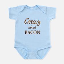 Crazy About Bacon Infant Bodysuit