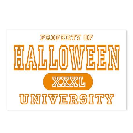 Halloween University Postcards (Package of 8)