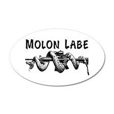 Molon Labe AR15 Wall Decal