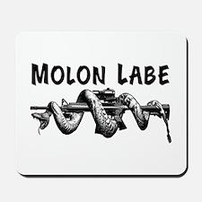 Molon Labe AR15 Mousepad