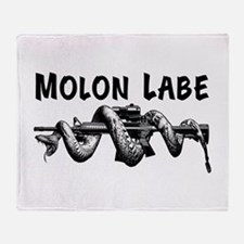 Molon Labe AR15 Throw Blanket