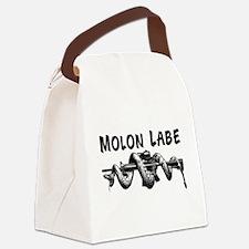 Molon Labe AR15 Canvas Lunch Bag