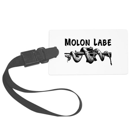 Molon Labe AR15 Large Luggage Tag