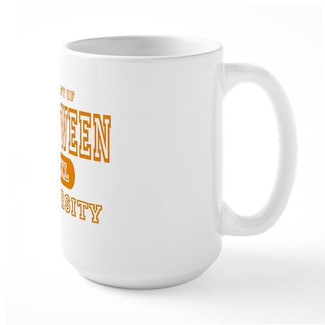 Halloween University Large Mug